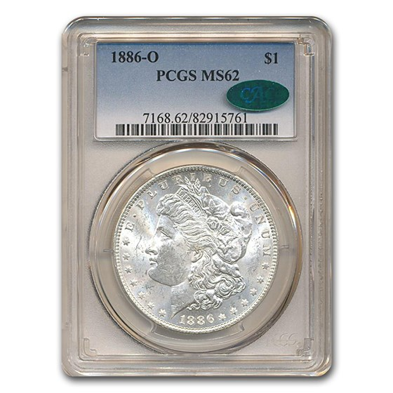 1886-O Morgan Dollar MS-62 PCGS CAC