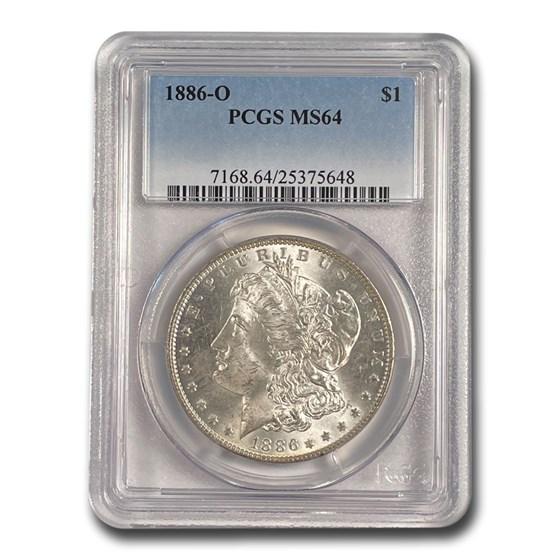 1886-O Morgan Dollar MS-64 PCGS