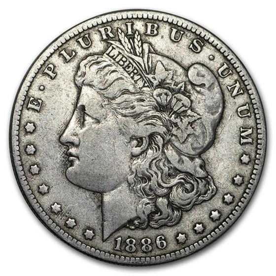 1886-O Morgan Dollar VG/VF