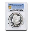 1886-S Morgan Dollar DMPL MS-65 PCGS