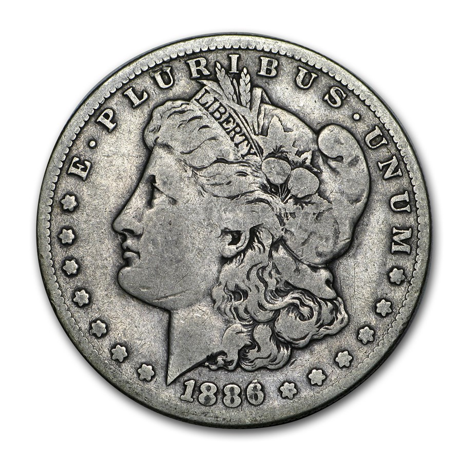 1886-S Morgan Dollar Fine