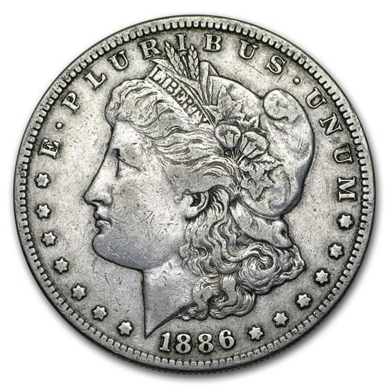 1886-S Morgan Dollar VF