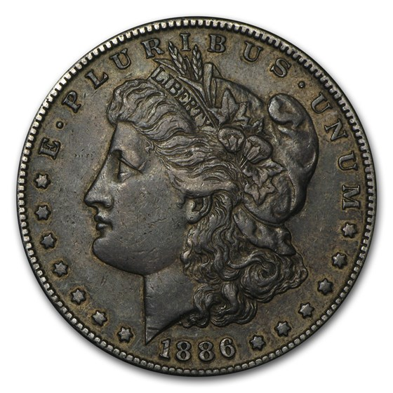 1886-S Morgan Dollar XF
