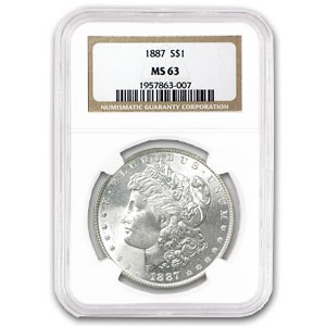 1887/1887 MS-63 NGC (VAM-5, Doubled Date, Top-100)