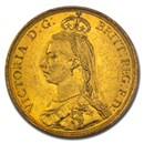 1887 Great Britain Gold 2 Pounds Victoria MS-62 PCGS
