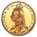 1887 Great Britain Gold Two Pounds Victoria PR-63 PCGS (DCAM)