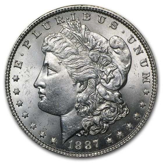 1887 Morgan Dollar BU
