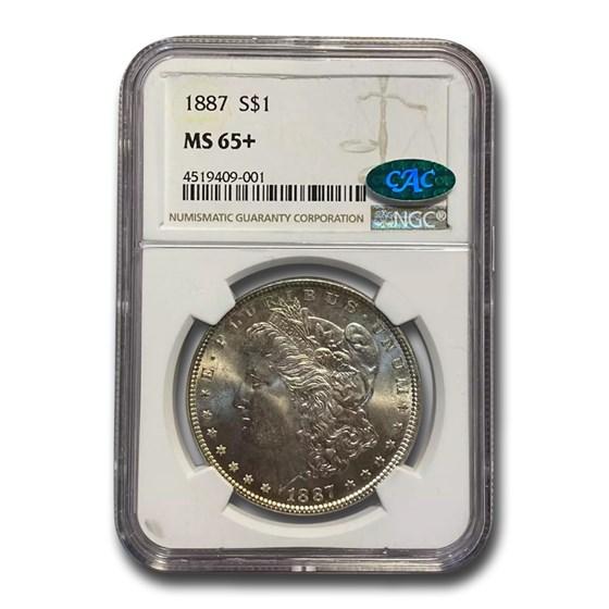 1887 Morgan Dollar MS-65+ NGC