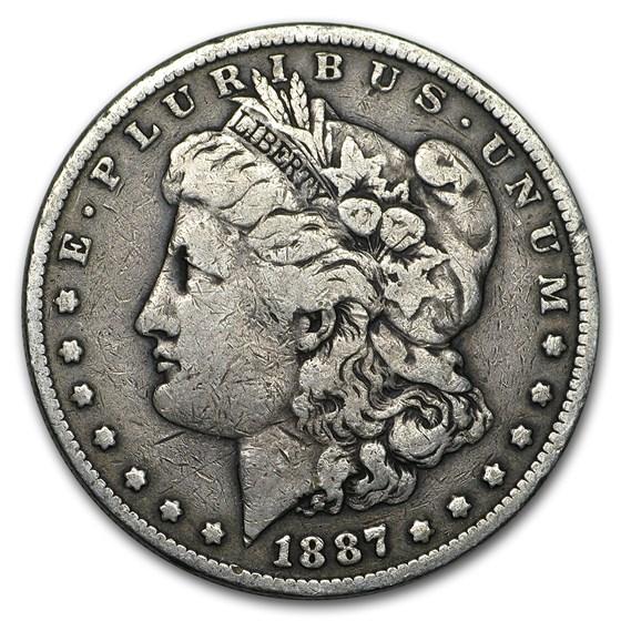 1887 Morgan Dollar VG/VF