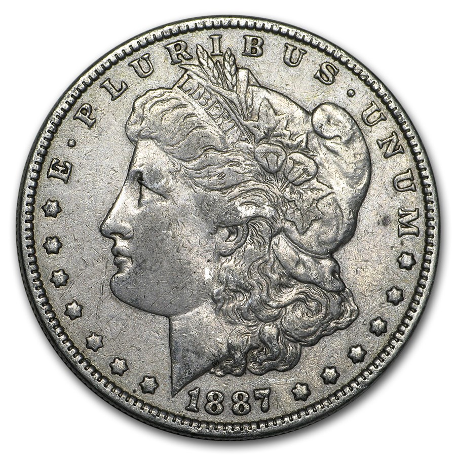 1887 Morgan Dollar XF