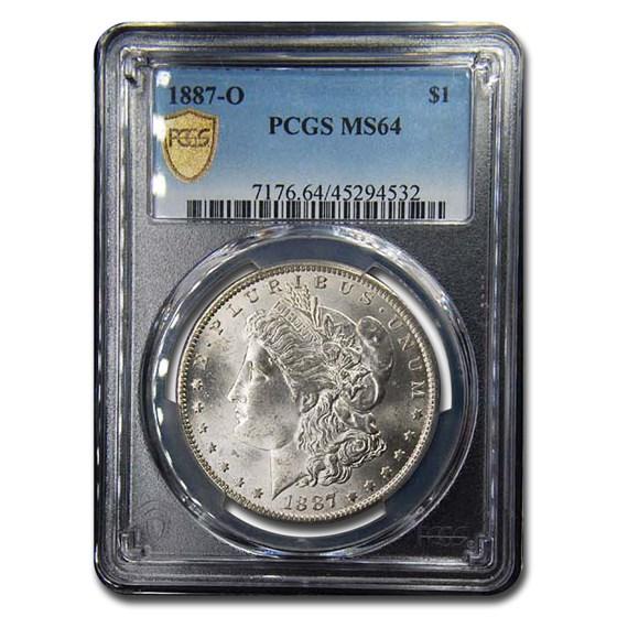 1887-O Morgan Dollar MS-64 PCGS