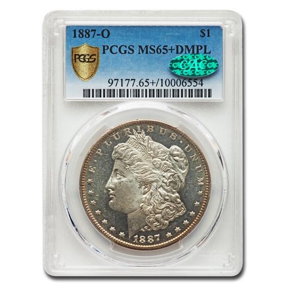 1887-O Morgan Dollar MS-65+ PCGS CAC (DMPL)