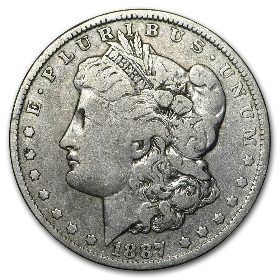 1887-O Morgan Dollar VG/VF