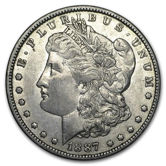 1887-O Morgan Dollar XF