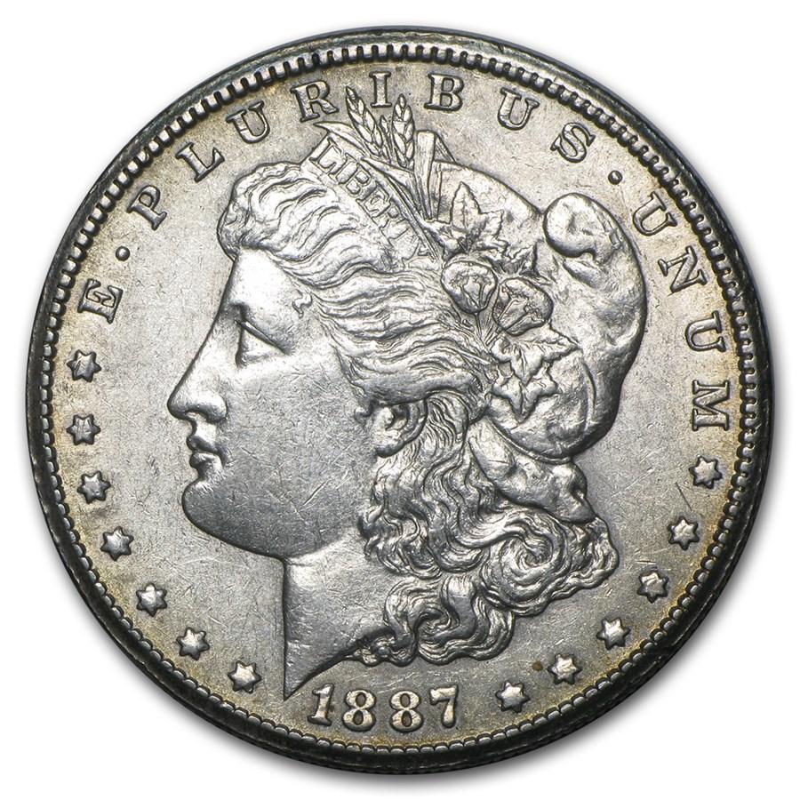 1887-S Morgan Dollar AU