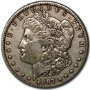 1887-S Morgan Dollar VG/VF