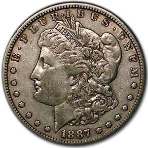 1887-S Morgan Dollar VG/VF