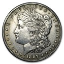 1887-S Morgan Dollar XF