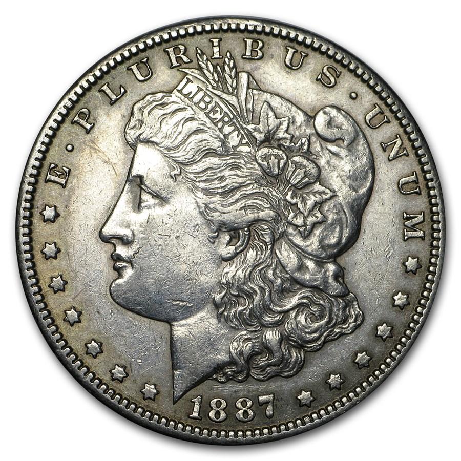 1887-S Morgan Dollar XF