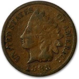 1888 Indian Head Cent Good+