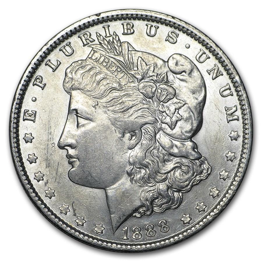 1888 Morgan Dollar AU
