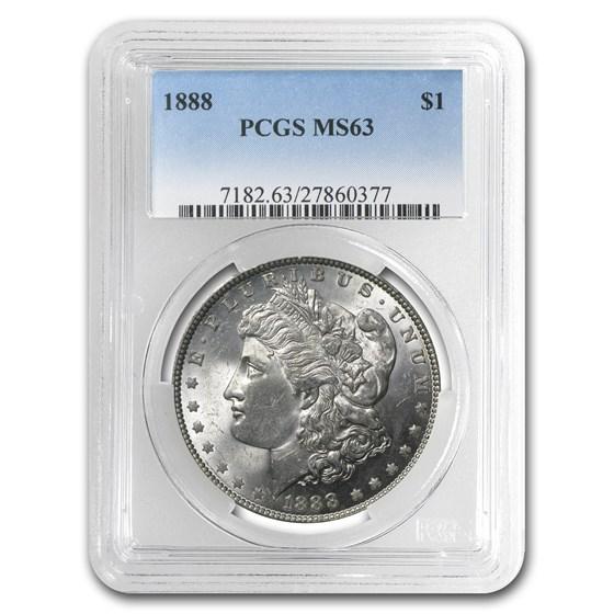 1888 Morgan Dollar MS-63 PCGS