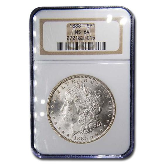1888 Morgan Dollar MS-64 NGC