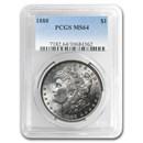 1888 Morgan Dollar MS-64 PCGS