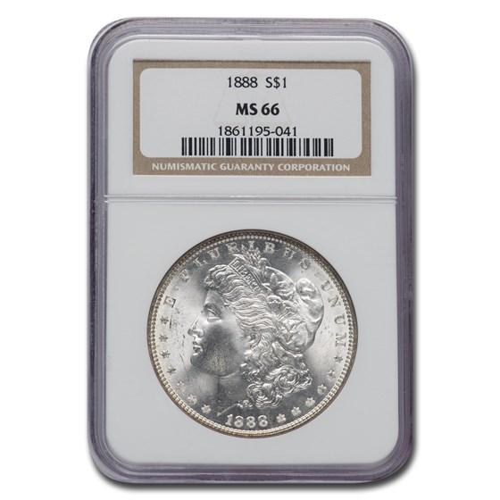 1888 Morgan Dollar MS-66 NGC