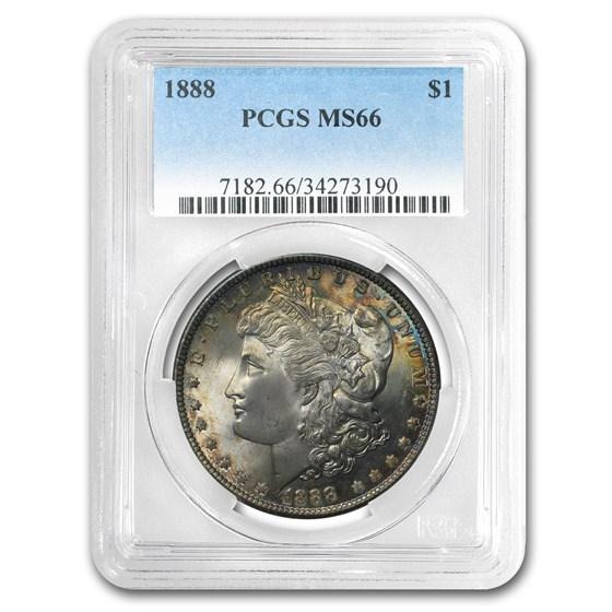 1888 Morgan Dollar MS-66 PCGS (Toned)