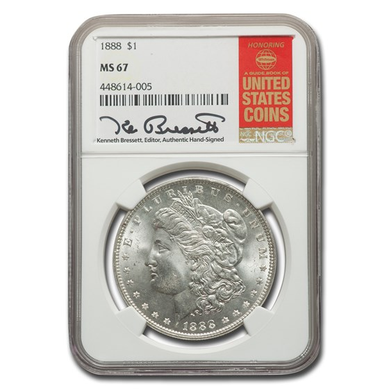 1888 Morgan Dollar MS-67 NGC