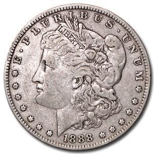 1888 Morgan Dollar VG/VF