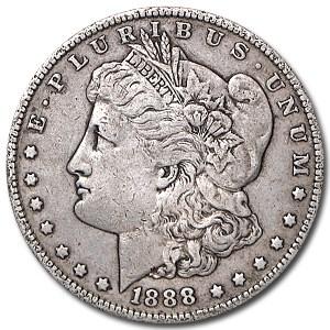 1888 Morgan Dollar XF