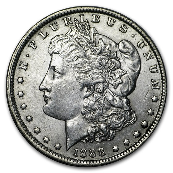 1888-O Morgan Dollar AU