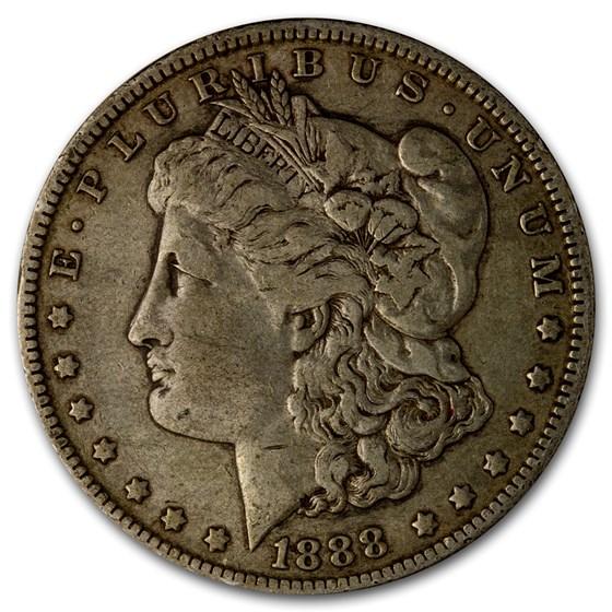 1888-O Morgan Dollar Hot Lips VG-VF