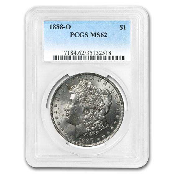 1888-O Morgan Dollar MS-62 PCGS