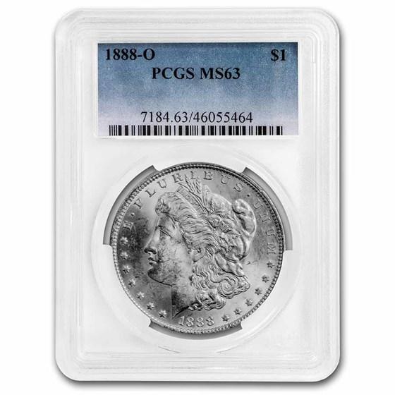 1888-O Morgan Dollar MS-63 PCGS