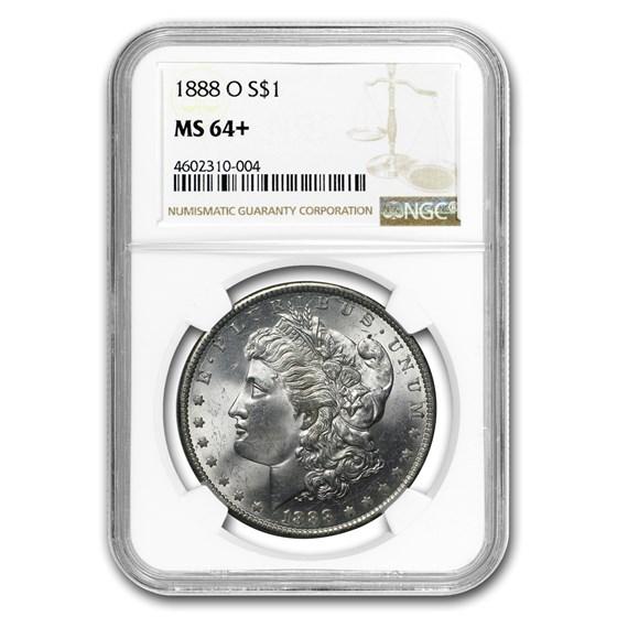 1888-O Morgan Dollar MS-64+ NGC