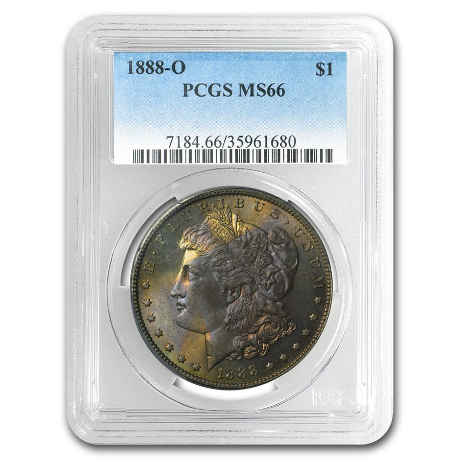 1888-O Morgan Dollar MS-66 PCGS (Toned)
