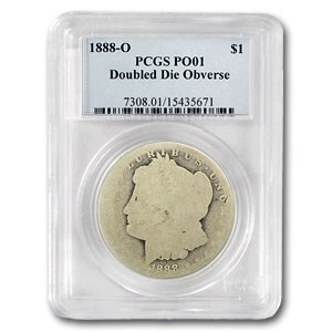 1888-O Morgan Dollar Poor-1 PCGS (VAM-4, Hot Lips)