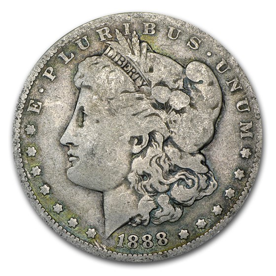 1888-O Morgan Dollar Shooting Star Good