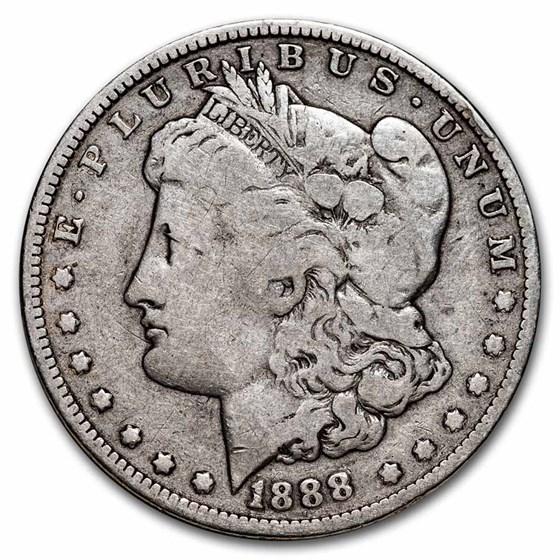 1888-O Morgan Dollar VG/VF