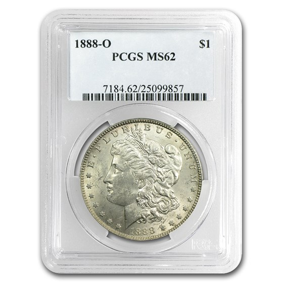 1888-O MS-62 PCGS (VAM-1B, Early Scarface Die State, Top-100)