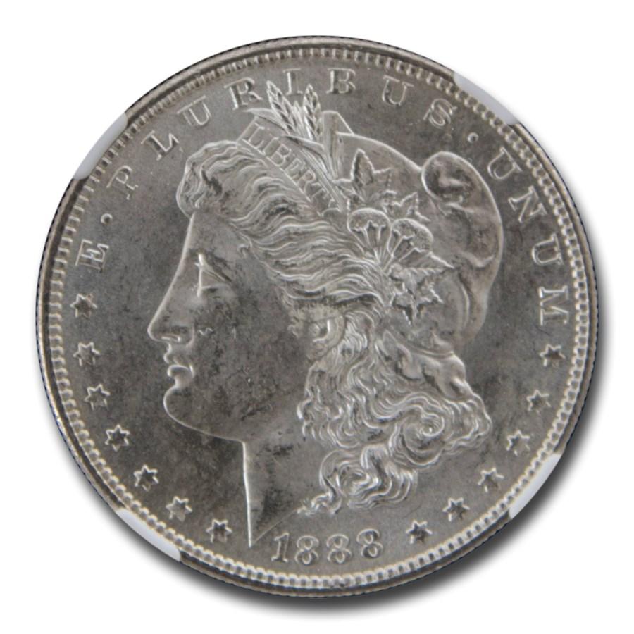 1888-S Morgan Dollar MS-63 NGC