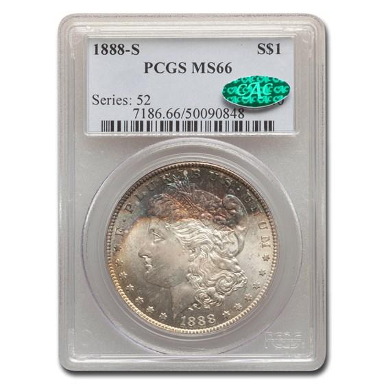 1888-S Morgan Dollar MS-66 PCGS CAC
