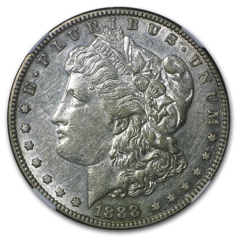 1888-S Morgan Dollar XF
