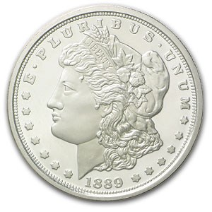 1889-CC Morgan Dollar Proof (Replica)