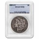 1889-CC Morgan Dollar VF-25 PCGS