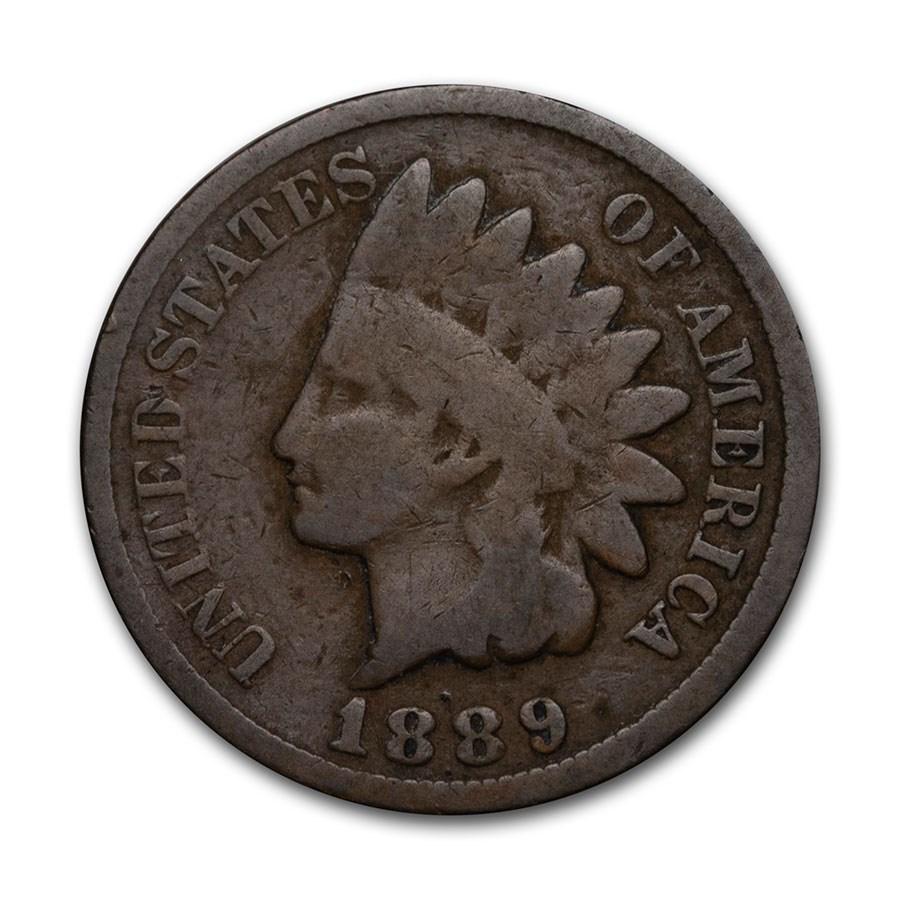 1889 Indian Head Cent Good+