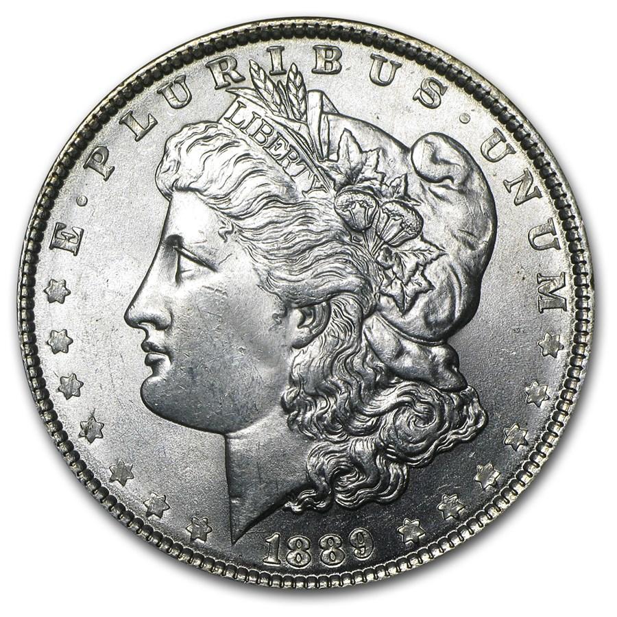 1889 Morgan Dollar BU